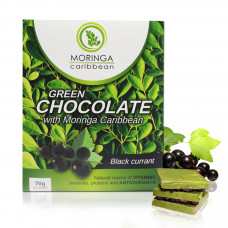 Moringa chocolate con grosellas negras