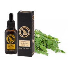 Moringa After Shave Energy Oil: Aceite de afeitado para hombres